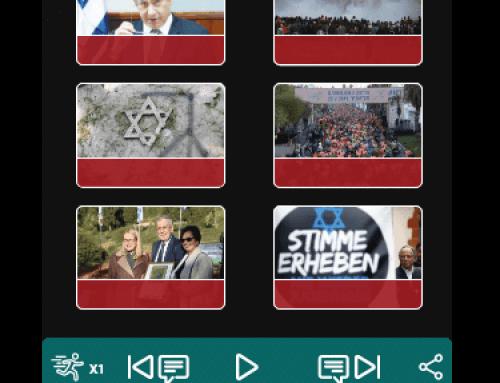 נגן מקריא אייטמים באתרי תוכן בסמרטפון